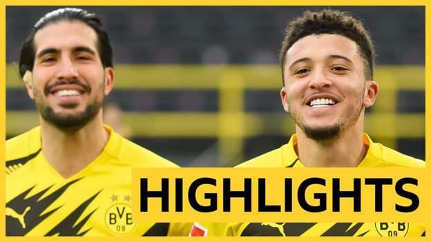 Highlights: Jadon Sancho scores and makes 50th Bundesliga assist in Borussia Dortmund win