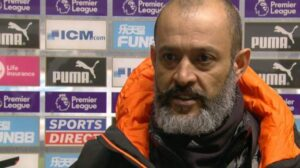 Newcastle United 1-1 Wolves: Nuno Espirito Santo has 'high expectations' of players